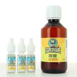 Pack DIY Easy2Mix 20PG/80VG 200ml - Supervape