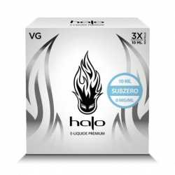 Pack de 3x10ml - Subzero - High VG - Halo