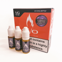 E-Liquide EVO - Cobalt Crush - 3x10ml