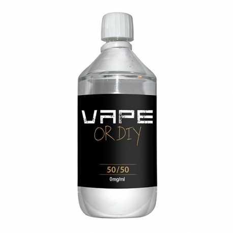 Base 0mg 50% PG / 50% VG 1 liter - Revolute