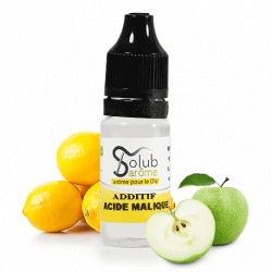 Additif Acide Malique - Solubarome