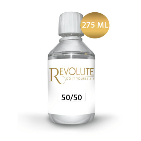 Base 0mg 50% PG / 50% VG 275ml - Revolute
