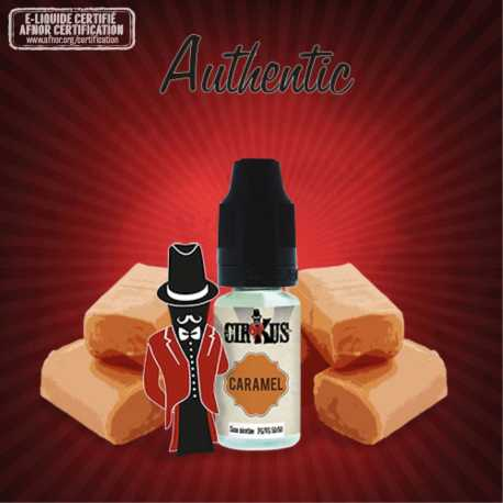 E-liquide Cirkus Caramel- 10ml - VDLV