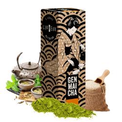 Genmaicha tea - Curieux