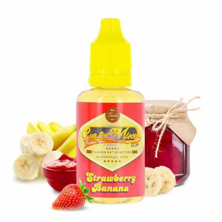 Concentré strawberry banana 30ml - Customixed
