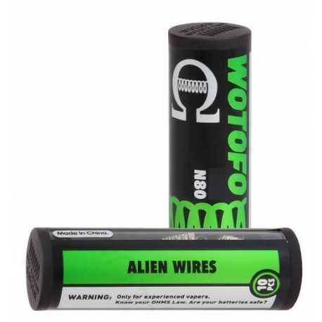 Coil alien wires N80 - Wotofo