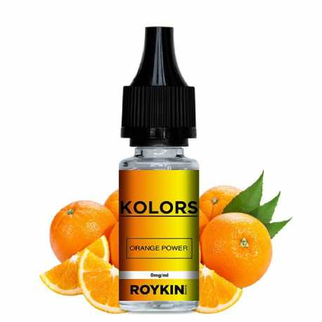 E-Liquid Orange Power Roykin
