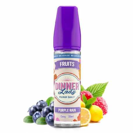 Purple Rain 50ml 0% Sucralose - Dinner Lady