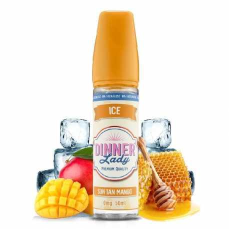 Sun Tan Mango 50ml 0% Sucralose - Dinner Lady