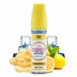 Lemon Sherbets Ice 50ml 0% Sucralose - Dinner Lady