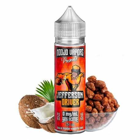 Jefferson driver 50ml - Modjo vapors