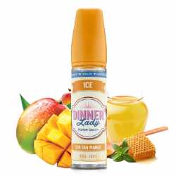 E-liquide Mango Iced Tea 50ml 0% Sucralose - Dinner Lady
