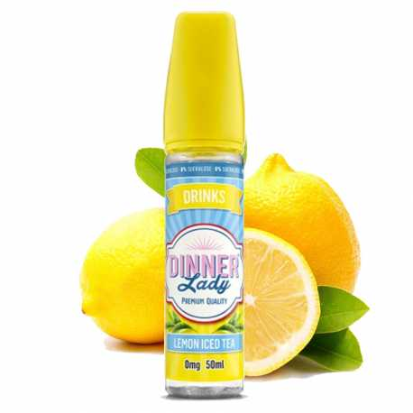 Lemon Iced Tea 50ml 0% sucralose - Dinner Lady