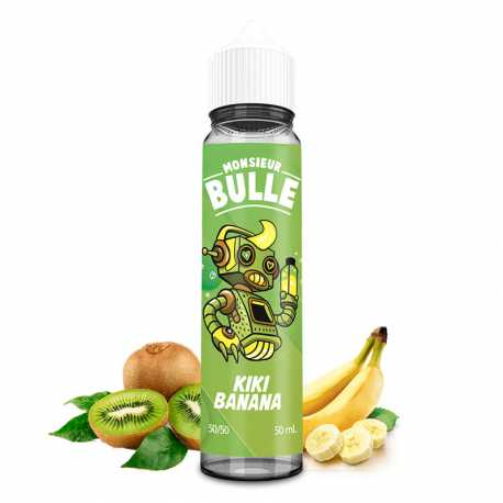 Kiki Banana 50ml - Monsieur Bulle