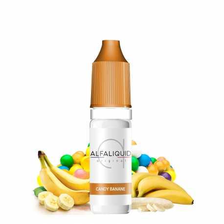 E-Liquid candy banana 10ml - Alfaliquid