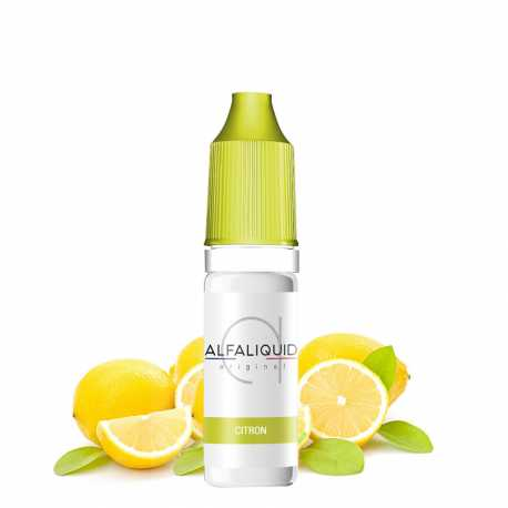 E-Liquid Lemon 10ml - Alfaliquid