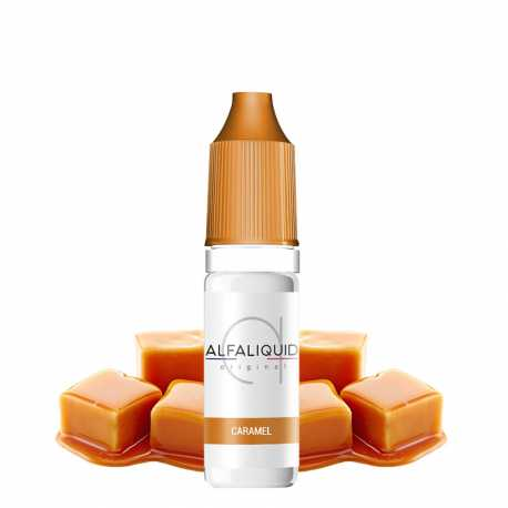 E-Liquide caramel 10ml - Alfaliquid