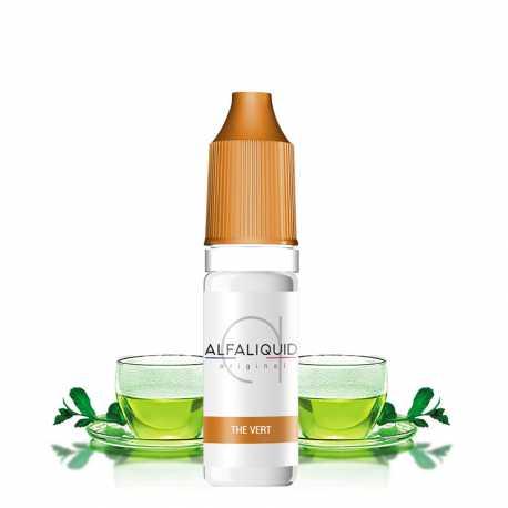 E-Liquid green tea 10ml - Alfaliquid