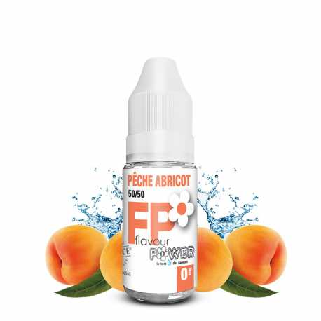 E-liquide Pêche Abricot 50/50 - Flavour Power