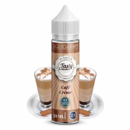 E-liquide Café Crème 50ml - Tasty Collection