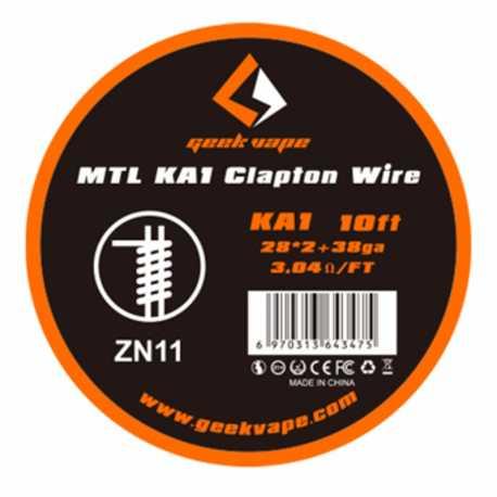 Fil résistif Clapton MTL 10ft - GeekVape