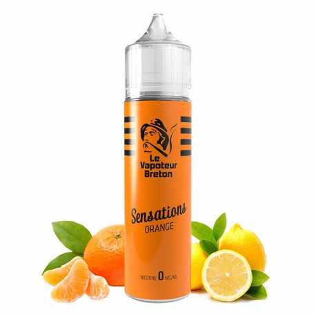 Orange sansation 50ml - Le vapoteur breton