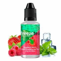 Concentré Raspberry Mint &Wild Strawberry Ice Tea 30ml - Made In Vape