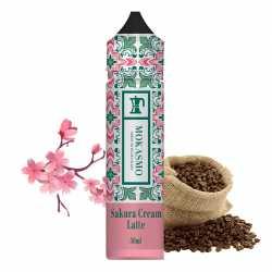 Mokasmo Sakura Creme Latte 50ML - Zap Juice