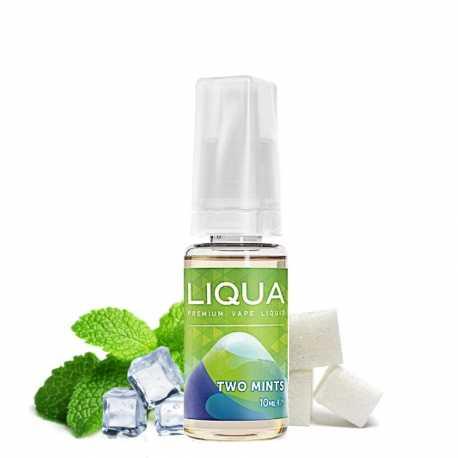 E-liquide double menthe LIQUA