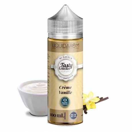 Tasty crème vanille 50ml - Liquidarom