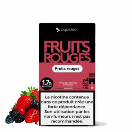 Wpod Fruits rouges (1,7%) - Liquideo
