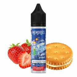 Strawberry cream 50ML - Vap'land