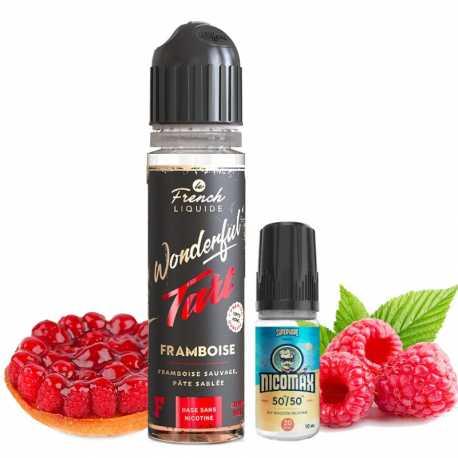 Framboise 50ml Wonderful Tart - Le French Liquide
