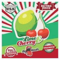 Arome concentré Lime & Cherry Retro Juice - Big Mouth