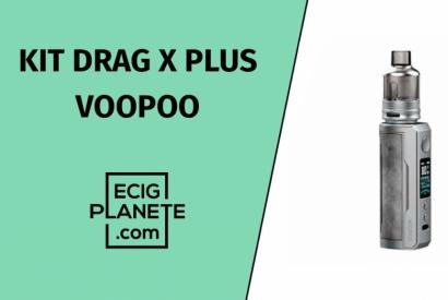 Test du kit Drag X plus Voopoo